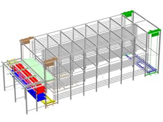 Variable Retention Multipass freezer/chiller